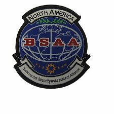 Resident Evil BSAA Logo and Name Embroidered Patch