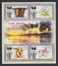 Penrhyn Island - 2000, Olympic Games, Sydney sheet - MNH - SG 536/9