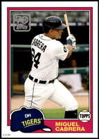 Miguel Cabrera 2021 Topps 5x7 70 Years of Topps Baseball #70YT-31 /49 Tigers