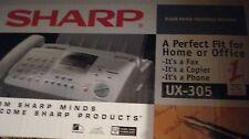 Sharp ux-305 Fax Machine