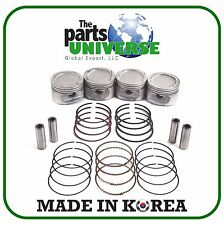 99-08 Daewoo Lanos Chevrolet Aveo 1.6L Engine Piston w/ Ring Set E-TEC II (STD)