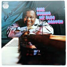 Fats Domino signed Vinyl Record. IN person with Proof