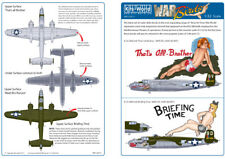 KIT-mondo 1/32 B-25J Mitchell Nose Art Foglio 4 # 32013