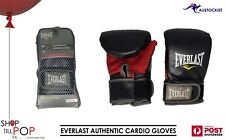 EVERLAST AUTHENTIC CARDIO GLOVES  L/XL RED & BLACK BNWT BAG & MITT TRAINING
