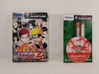 Naruto:Gekitou Ninja Taisen 2 (Nintendo GameCube, 2003)