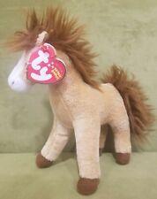 "TY Beanie Baby 6"" TORNADO the Horse Plush Stuffed Animal Toy"