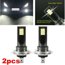 NEW 2x H7 6000K White For COB 60W High Power LED Fog Light Driving Bulb DRL