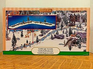 LEMAX Mill Stream, Set of 11  #94403Landscape Accents1999   Ships Free
