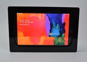 Samsung Galaxy Tab S 8.4 Black Acrylic Security Enclosure w Wall Mount Kit