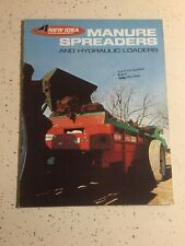 Avco New Idea Farm Equipment Manure Spreaders & Hydraulic Loaders 20 Pages 1972