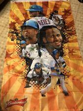 New York Mets Jose Reyes Banner, 5'x3', New Budweiser