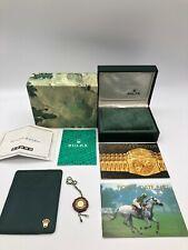 Rolex Genuine Datejust watch box case 11.00.01 Booklet Card case Tag 0923004