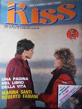 Rivista di Fotoromanzi - KISS n°79 1984 Marina Santi Roberto Fabiani    [G315]
