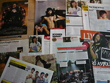 DEVENDRA BANHART - MAGAZINE CUTTINGS COLLECTION (REF T6)