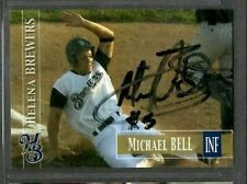 2005 Helena Brewers Team Set #48 Michael Bell Signed Autograph Baseball Card