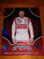 DALE EARNHARDT JR 2020 CHRONICLES CRUSADE RED PRIZM REFRACTOR