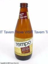Scarce 1970s Tempo Beer Stubby bottle Tavern Trove
