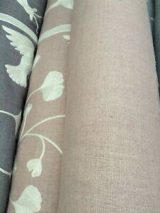 MATKA SILK. A very unique and special silk. Heavy with linen look. £25 Mtr -Pink