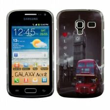 Hardcase mit London Bus Design für Samsung Galaxy Ace 2 i8160