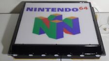N64 SIGN PROMO DISPLAY NINTENDO PLAYSTATION EXTREMELY RARE HOLY GRAIL MUST READ!