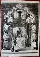 Title page Allegorical figures nudes c.1820 W.V. Senus stipple engraved print