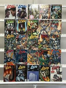 Lobo Dc 25 Lot Comic Book Comics Set Run Collection Box1