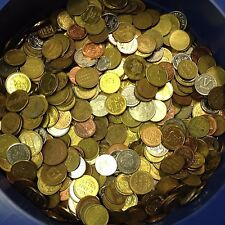 10 lbs Tokens lots - Mixed Variety of Token: Arcade, Car Wash, & Many More!