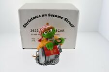 Sesame Street The Grouch Oscar 1993 Jim Henson Chirstmass Ornament