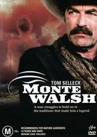 MONTE WALSH - TOM SELLECK - NEW & SEALED REGION 4 DVD FREE LOCAL POST