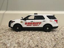 Meigs County Tennessee custom sheriff's diecast car Motormax 1:24 scale Ford SUV