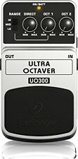 UO300 3-Mode Octaver Effects Pedal - Ultimate Bass Performance Flexible Range