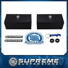 """Billet 1"""" Rear Lift Level Blocks Kit 01-10 Chevy GMC Silverado Sierra 1500HD PRO"""
