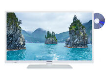 "Telefunken XF32E411D-W 32"" Fernseher Full HD Smart TV Triple Tuner DVD-Player"