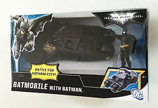 Batman Dark Knight Rises Batmobile Bike Gotham City Tumbler Ages 4 Car Mattel