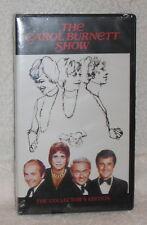 THE CAROL BURNETT SHOW SAMMY DAVIS JR SHIRLEY MacLAINE VHS TAPE NEW
