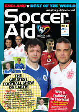 SOCCER AID 2012 ENGLAND v REST OF THE WORLD MINT PROGRAMME