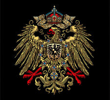 GERMAN EMPIRE EAGLE TELEPHONE WATER SLIDE DECAL.