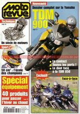 MOTO REVUE 3497 YAMAHA TDM 900 et 850 (Dossier) ; DUCATI 916 Strada 2001