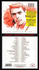 "JACQUES BREL ""Le Siècle d'Or"" (2 CD Digipack) Grand Jacques 2010 NEUF"