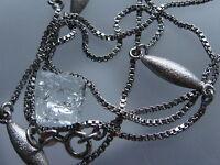 Hübsche Kette/Collier 835er SIlber Silberkette/Silbercollier Silberschmuck