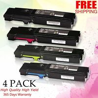 4Pk Toner CMYK Set for Xerox Phaser 6600 6600DN WorkCentre 6605 6605DN 106R02228
