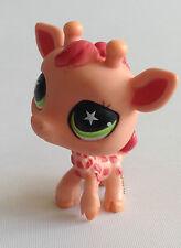 Littlest Pet Shop - RARE  - Giraffe - Green Eyes - No 943 -#943