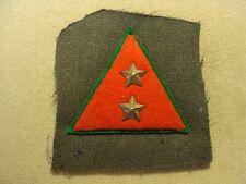 Ex Rare Original Wwii Italian Partisans Rank Sleeve Insignia Garabaldi Brigade
