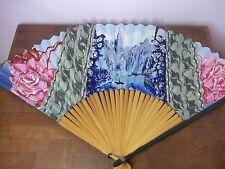 Kiwanis International Club 1931 Miami Fl Convention Hand Fan Giveaway Souvenir