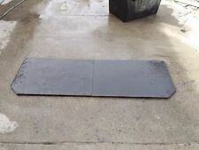 Slate hearth wood heater 20-25mm thick 600deep x 1750wide  we can cut to size,