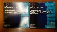 Lot of Six (6) Imation LS-120 SuperDisks