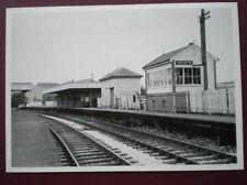 POSTCARD HARTINGTON STATION & SIGNAL BOX AUG 1962