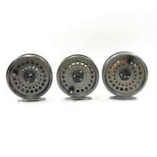 Lot of 3 Cortland Fly Fishing Reels. Made in England.