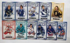 Lot of (11) 2006/07 Parkhurst Captains Insert Lot #/3999  Ice Hockey