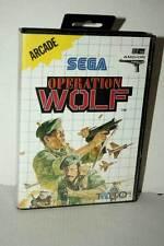 OPERATION WOLF GIOCO USATO SEGA MASTER SYSTEM EDIZIONE EUROPEA VER ITA VBC 46623